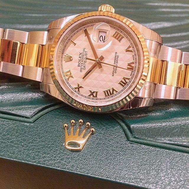 Rolex Datejust 36 Ref. 116233, (c) Instagram @jeweler_in_paradise