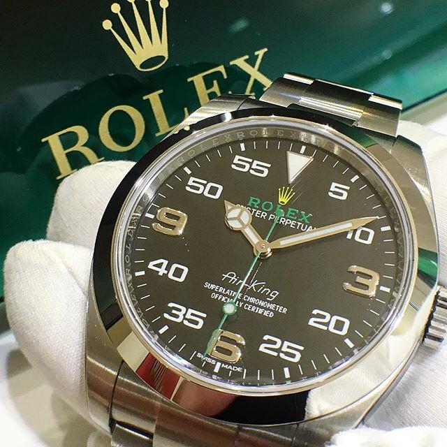 Rolex Air-King Ref. 116900, (c) Instagram @jeweler_in_paradise