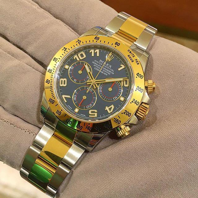 Rolex Daytona Ref. 116523, (c) Instagram @jeweler_in_paradise