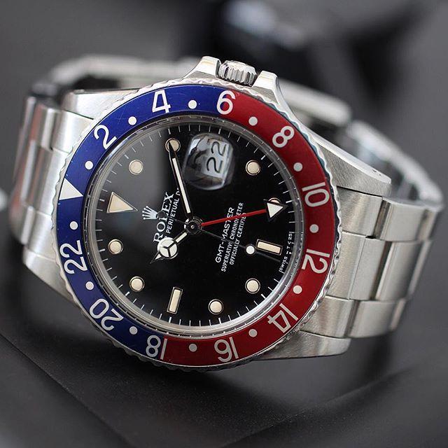 Rolex GMT-Master Ref. 16750, (c) Instagram @rolexdiver