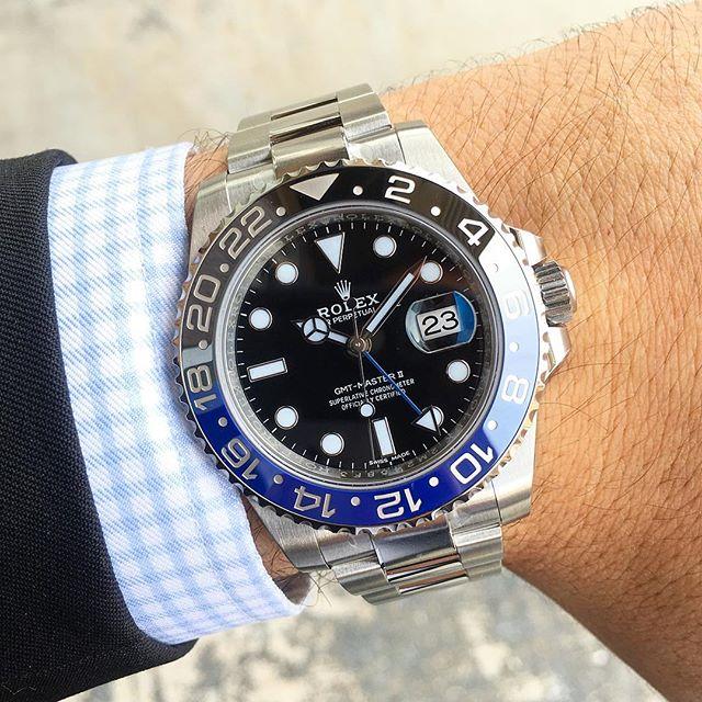 Rolex GMT-Master II Ref. 116710BLNR, (c) Instagram @jeweler_in_paradise