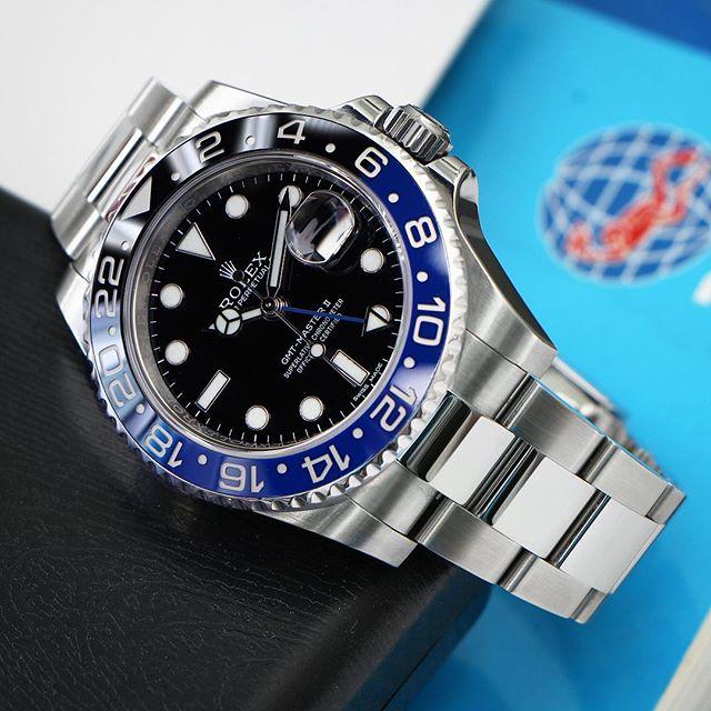 Rolex GMT-Master II Ref. 116710BLNR