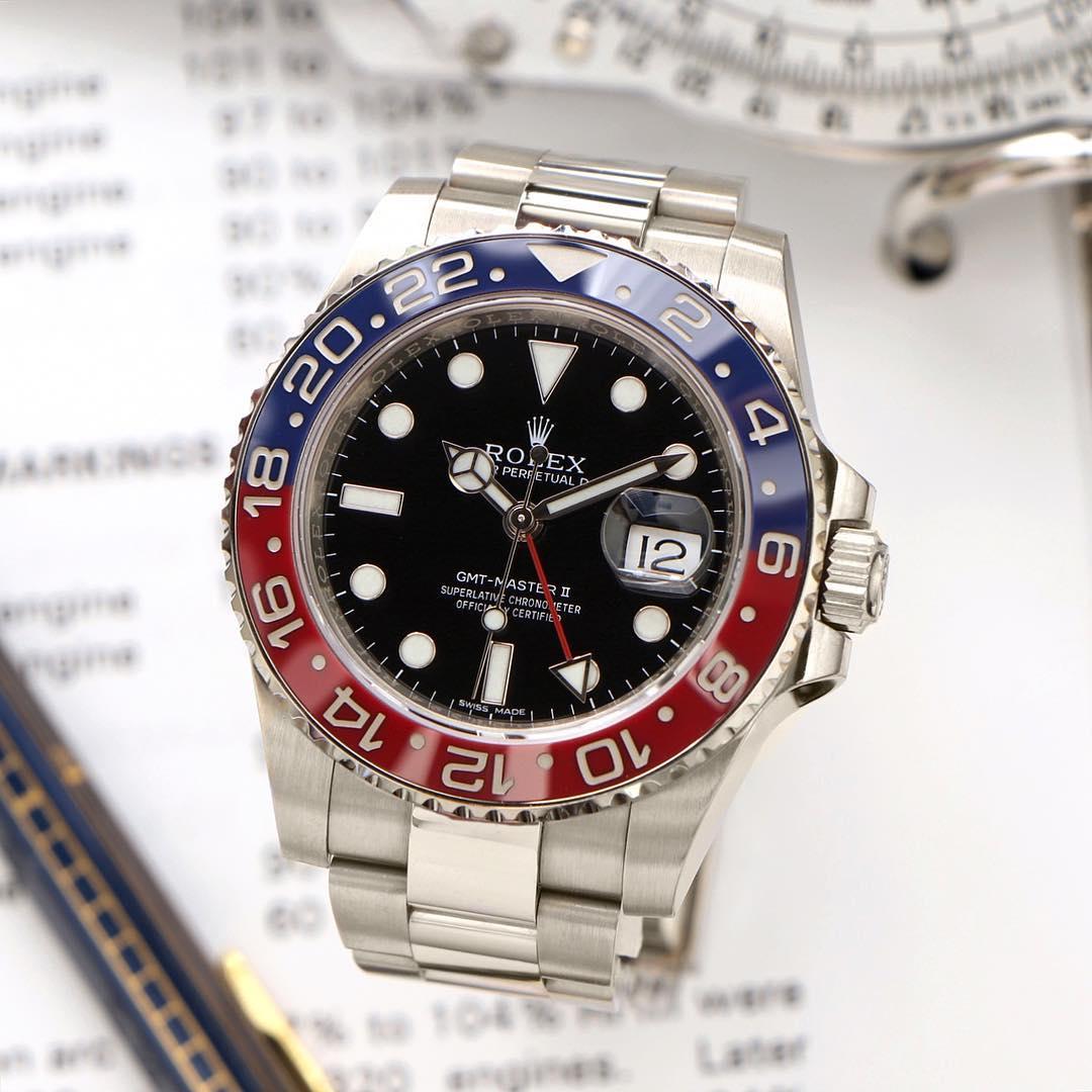 Rolex GMT-Master II Ref. 116719BLRO