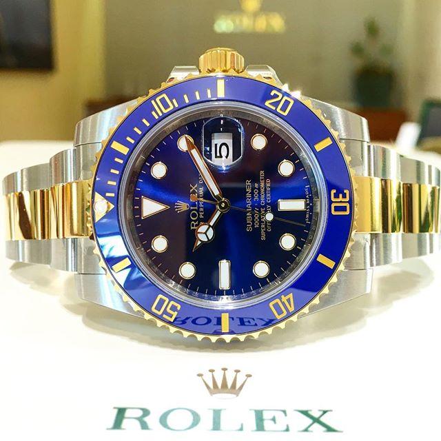 Rolex Submariner Ref. 116613LB, (c) Instagram @jeweler_in_paradise
