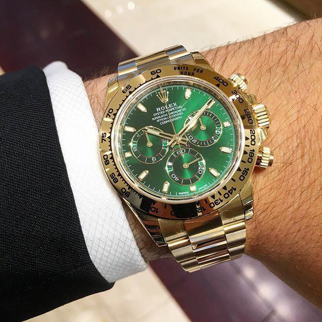 Rolex Daytona Ref. 116508, (c) Instagram @jeweler_in_paradise
