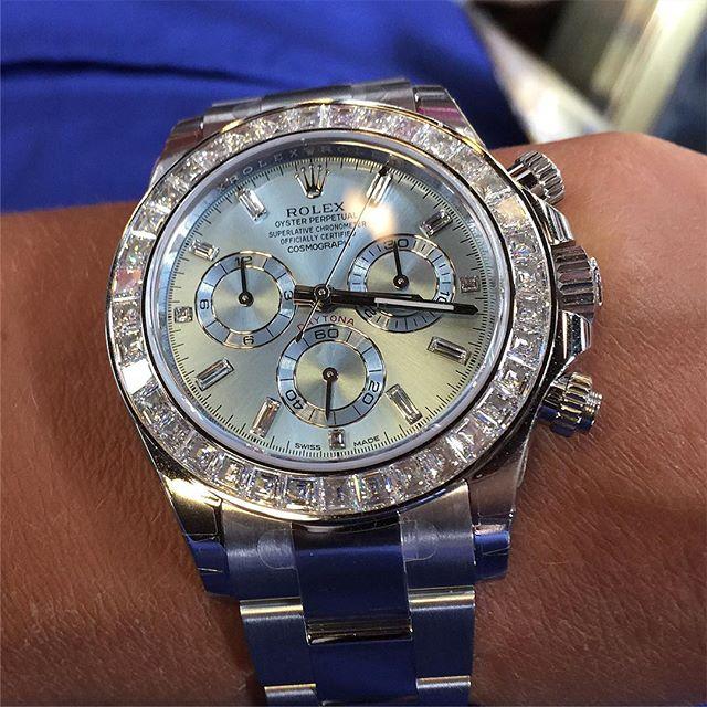 Rolex Daytona Ref. 116576TBR, (c) Instagram @soloveitime