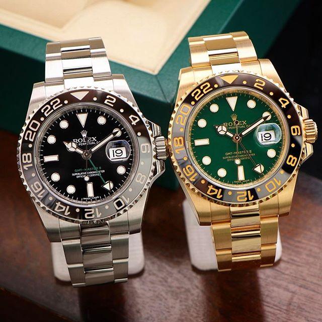 Rolex GMT-Master II Ref. 116710LN & 116718LN