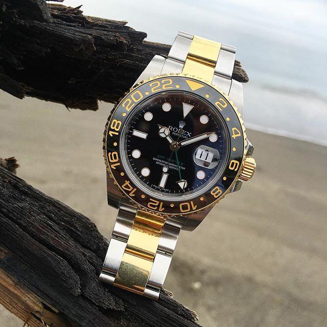 Rolex GMT-Master II Ref. 116713LN, (c) Instagram @jeweler_in_paradise