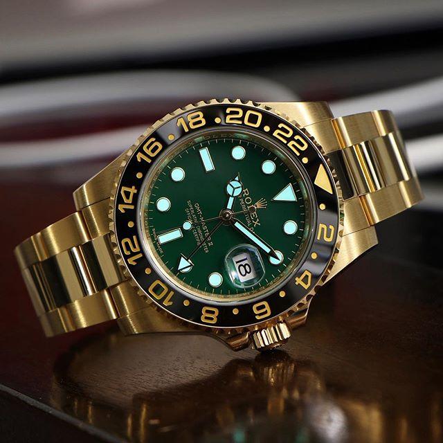 Rolex GMT-Master II Ref. 116718LN, (c) Instagram @rolexdiver