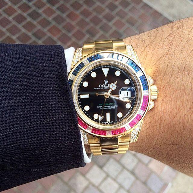 Rolex GMT-Master II Ref. 116758SARU, (c) Instagram @jeweler_in_paradise