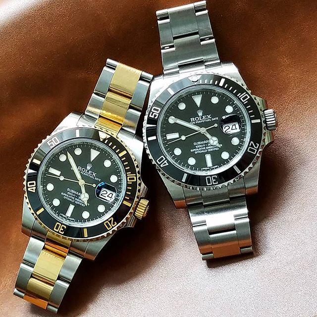 Rolex Submariner Ref. 116613LN & 116610LN