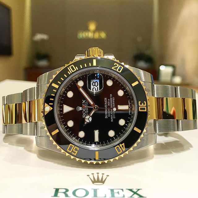 Rolex Submariner Ref. 116613LN, (c) Instagram @jeweler_in_paradise