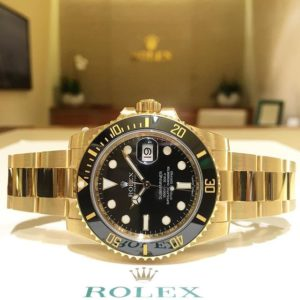 Rolex Submariner Ref. 116618LN, (c) Instagram @jeweler_in_paradise