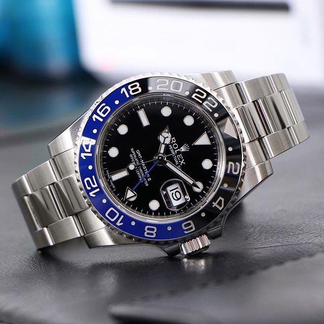 Rolex GMT-Master II Ref. 116710BLNR, (c) Instagram @rolexdiver