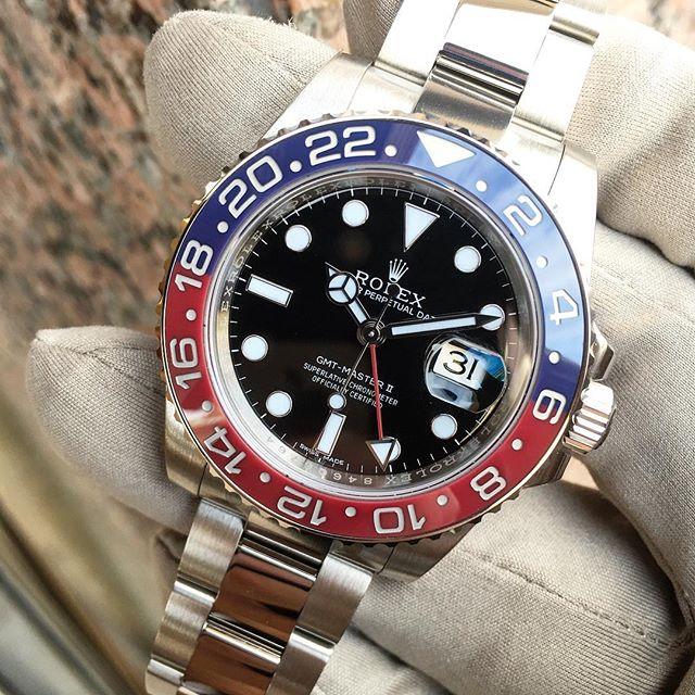 Rolex GMT-Master II Ref. 116719BLRO, (c) Instagram @jeweler_in_paradise