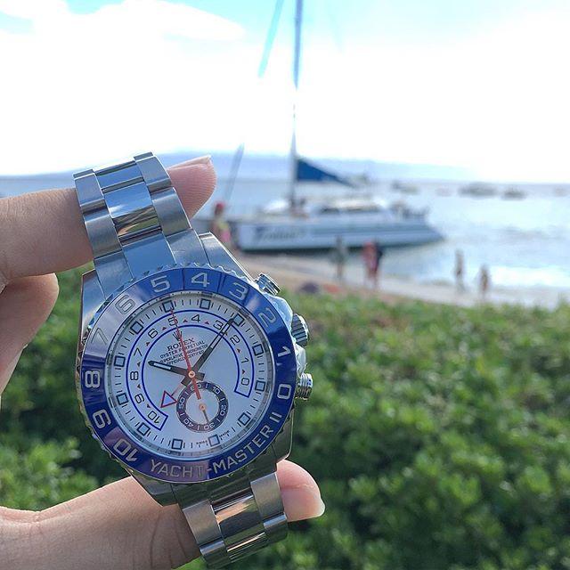 Rolex Yacht-Master II Ref. 116680, (c) Instagram @jeweler_in_paradise
