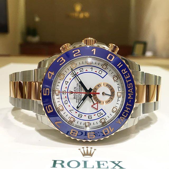 Rolex Yacht-Master II Ref. 116681, (c) Instagram @jeweler_in_paradise