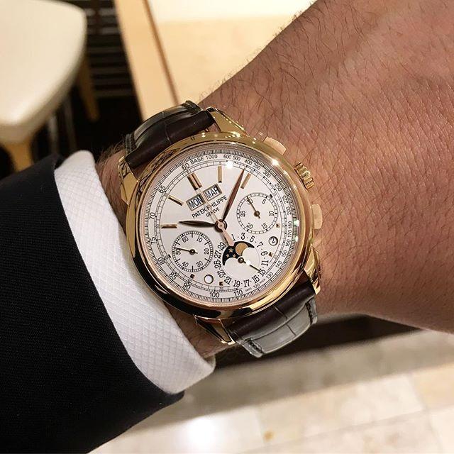Patek Philippe Grandes Complications 5270R-001, (c) Instagram @jeweler_in_paradise