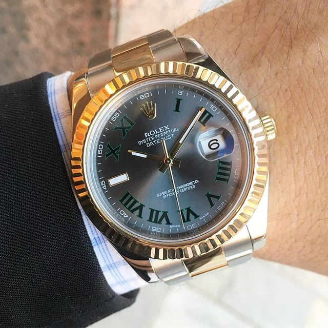 Rolex Datejust II Ref. 116333, (c) Instagram @jeweler_in_paradise
