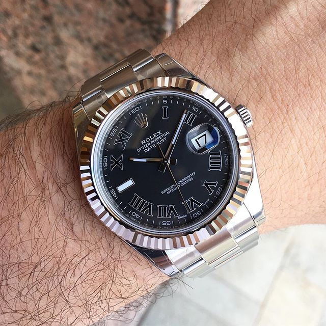 Rolex Datejust II Ref. 116334, (c) Instagram @jeweler_in_paradise