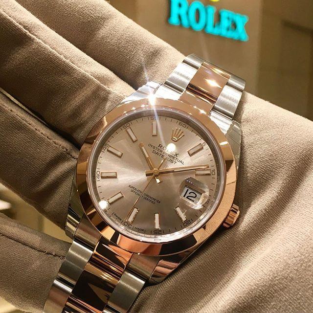 Rolex Datejust 41 Ref. 126301, (c) Instagram @jeweler_in_paradise