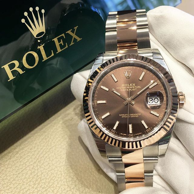 Rolex Datejust 41 Ref. 126331, (c) Instagram @jeweler_in_paradise