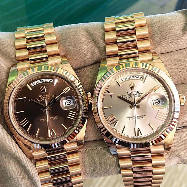 Rolex Day-Date 40 Ref. 228235, (c) Instagram @jeweler_in_paradise