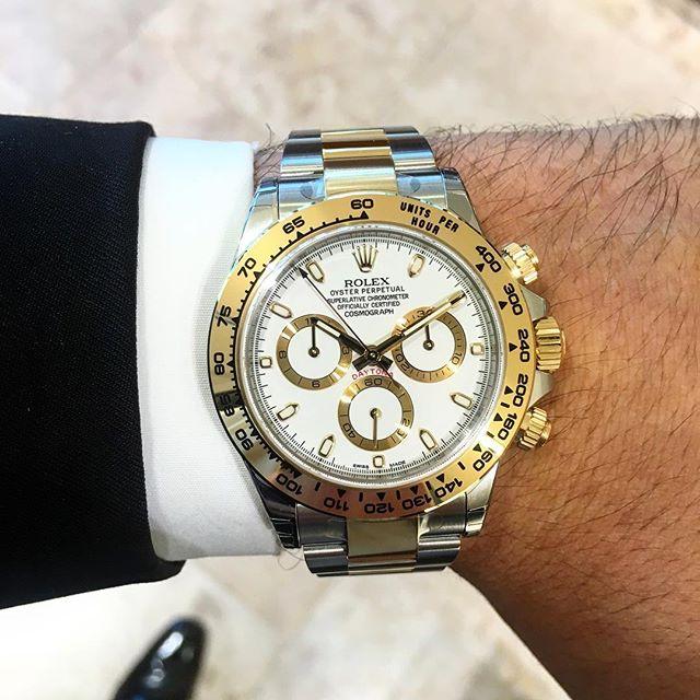 Rolex Daytona Ref. 116503, (c) Instagram @jeweler_in_paradise