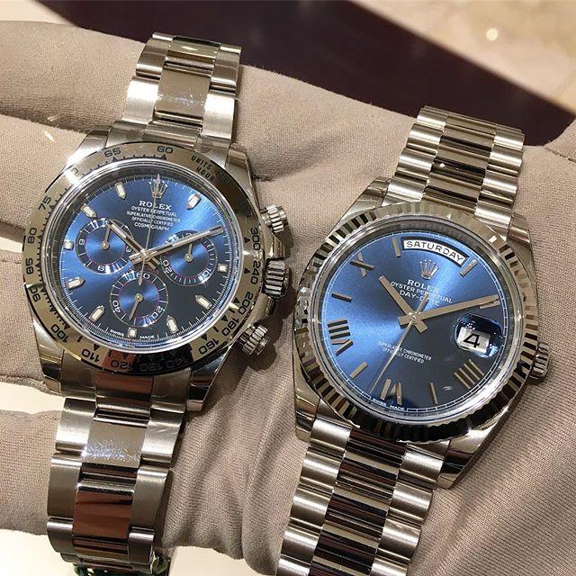 Rolex Daytona Ref. 116509 & Rolex Day-Date 40 Ref. 228239
