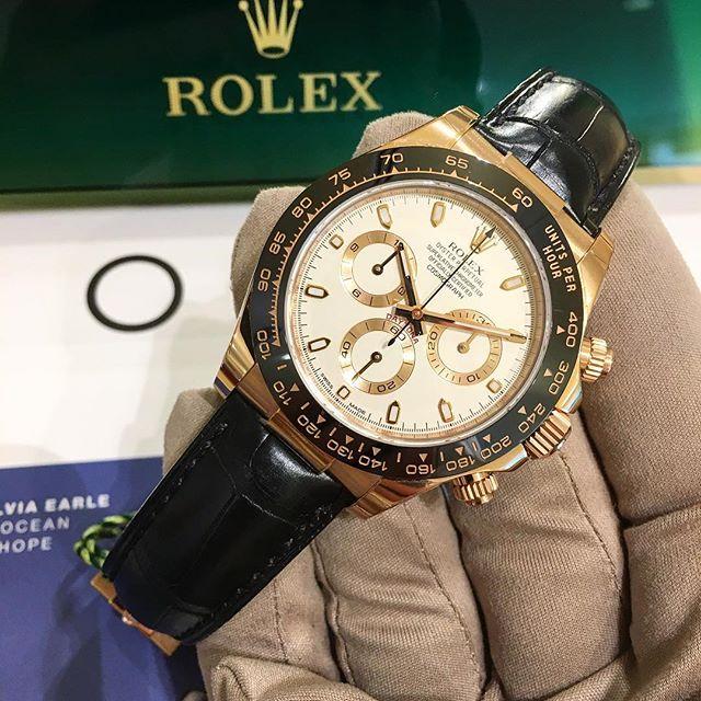 Rolex Daytona Ref. 116515LN, (c) Instagram @jeweler_in_paradise