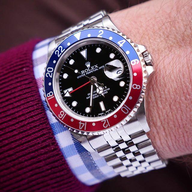 Rolex GMT-Master II Ref. 16710, (c) Instagram @loevhagen