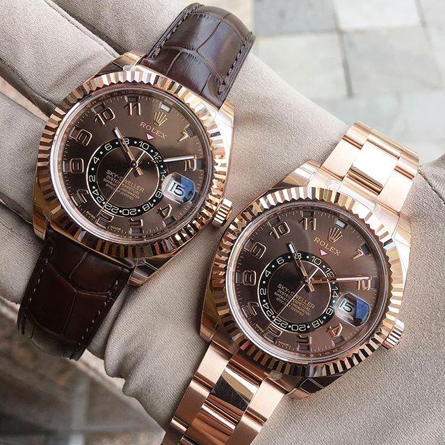 Rolex Sky-Dweller Ref. 326135 & 326935, (c) Instagram @jeweler_in_paradise