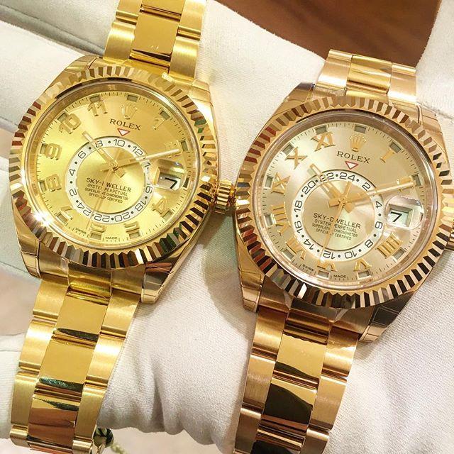 Rolex Sky-Dweller Ref. 326938 & 326935, (c) Instagram @jeweler_in_paradise