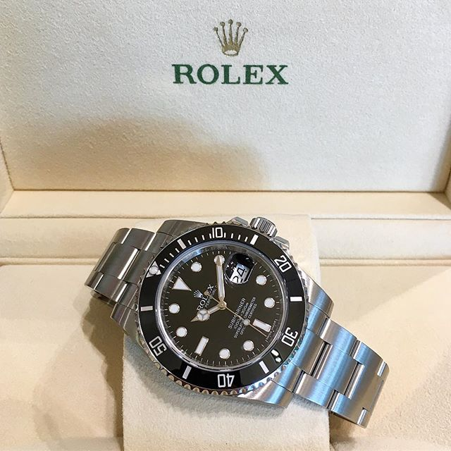 Rolex Submariner Ref. 116610LN, (c) Instagram @jeweler_in_paradise
