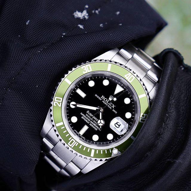 Rolex Submariner Ref. 16610LV, (c) Instagram @loevhagen