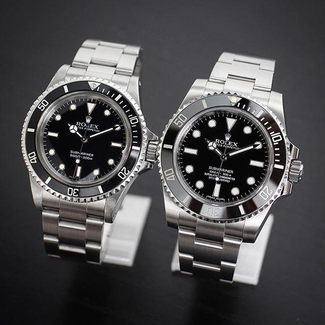 Rolex Submariner Ref. 5513 & 114060