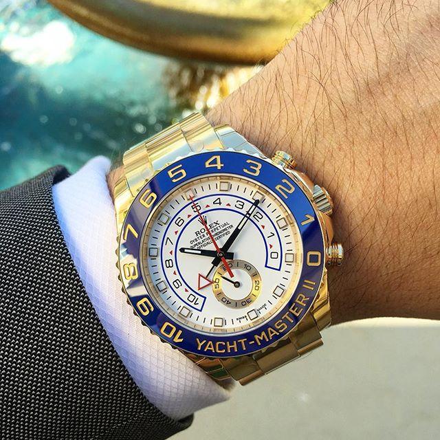 Rolex Yacht-Master II Ref. 116688, (c) Instagram @jeweler_in_paradise