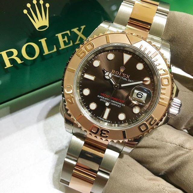 Rolex Yacht-Master 40 Ref. 116621, (c) Instagram @jeweler_in_paradise