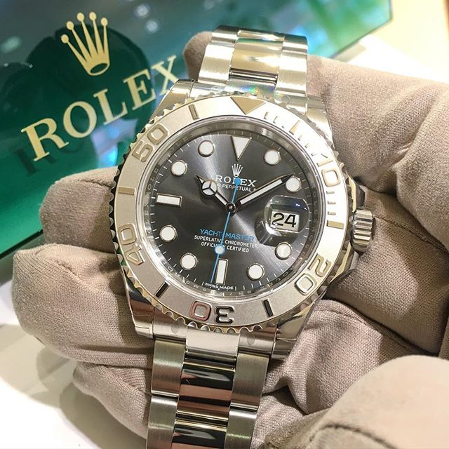 Rolex Yacht-Master 40 Ref. 116622, (c) Instagram @jeweler_in_paradise