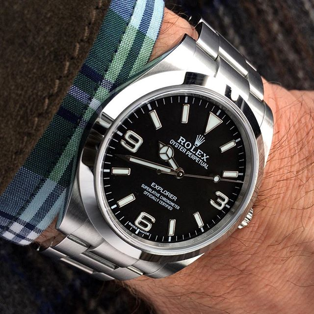Rolex Explorer Ref. 214270 - Version 2016