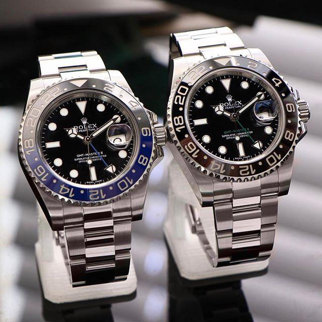 Rolex GMT-Master II Ref. 116710BLNR & 116710LN