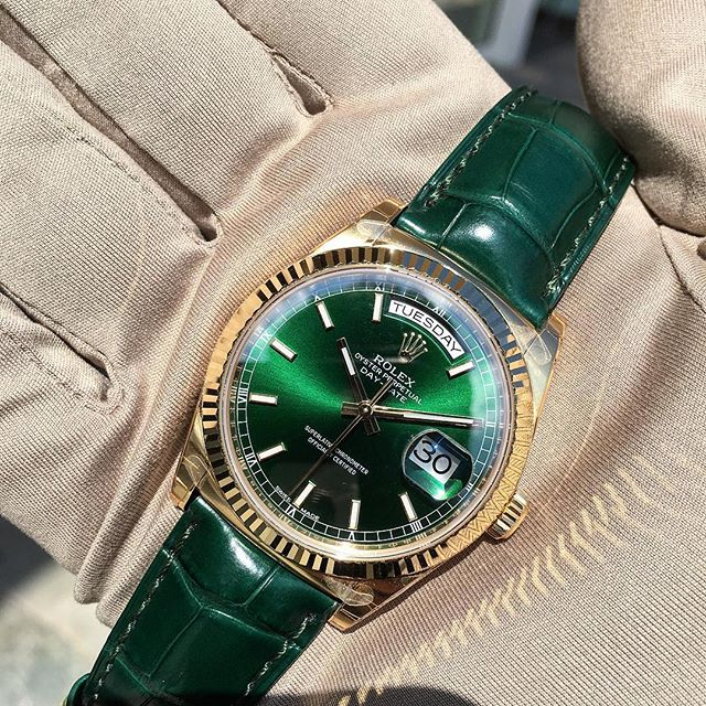 Rolex Day-Date 36 Ref. 118138