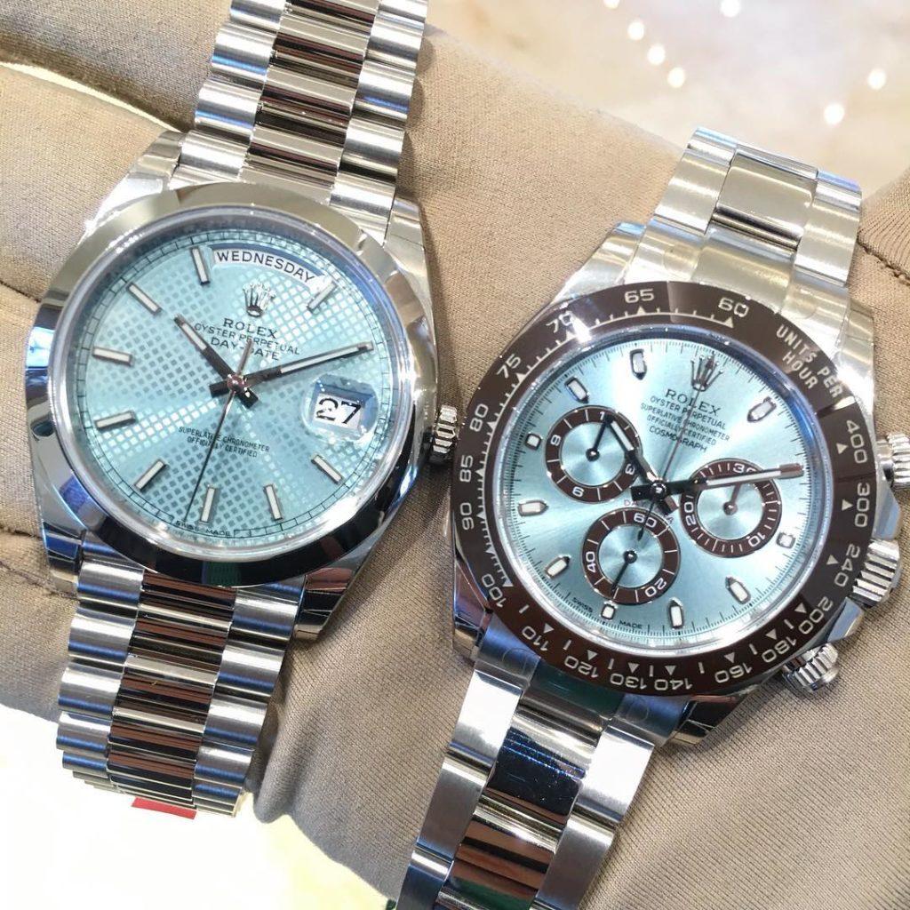 Rolex Day-Date 40 Ref. 228206 & Rolex Daytona Ref. 116506