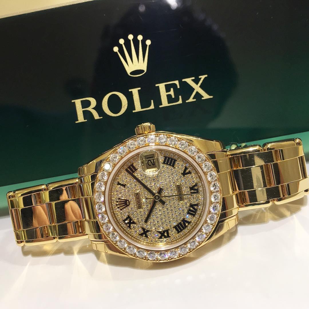 Rolex Pearlmaster 34 Ref. 81298