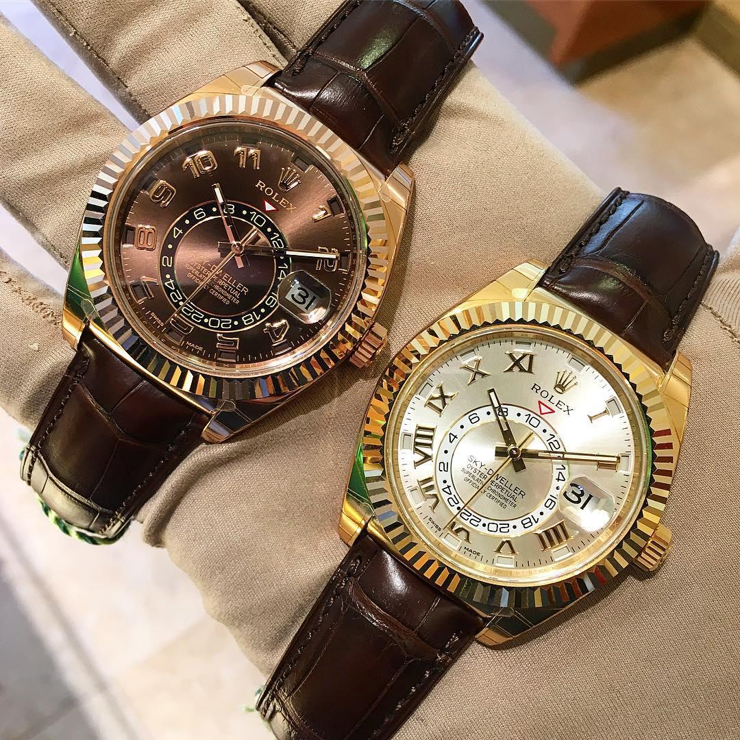 Rolex Sky-Dweller Ref. 326135 & 326138