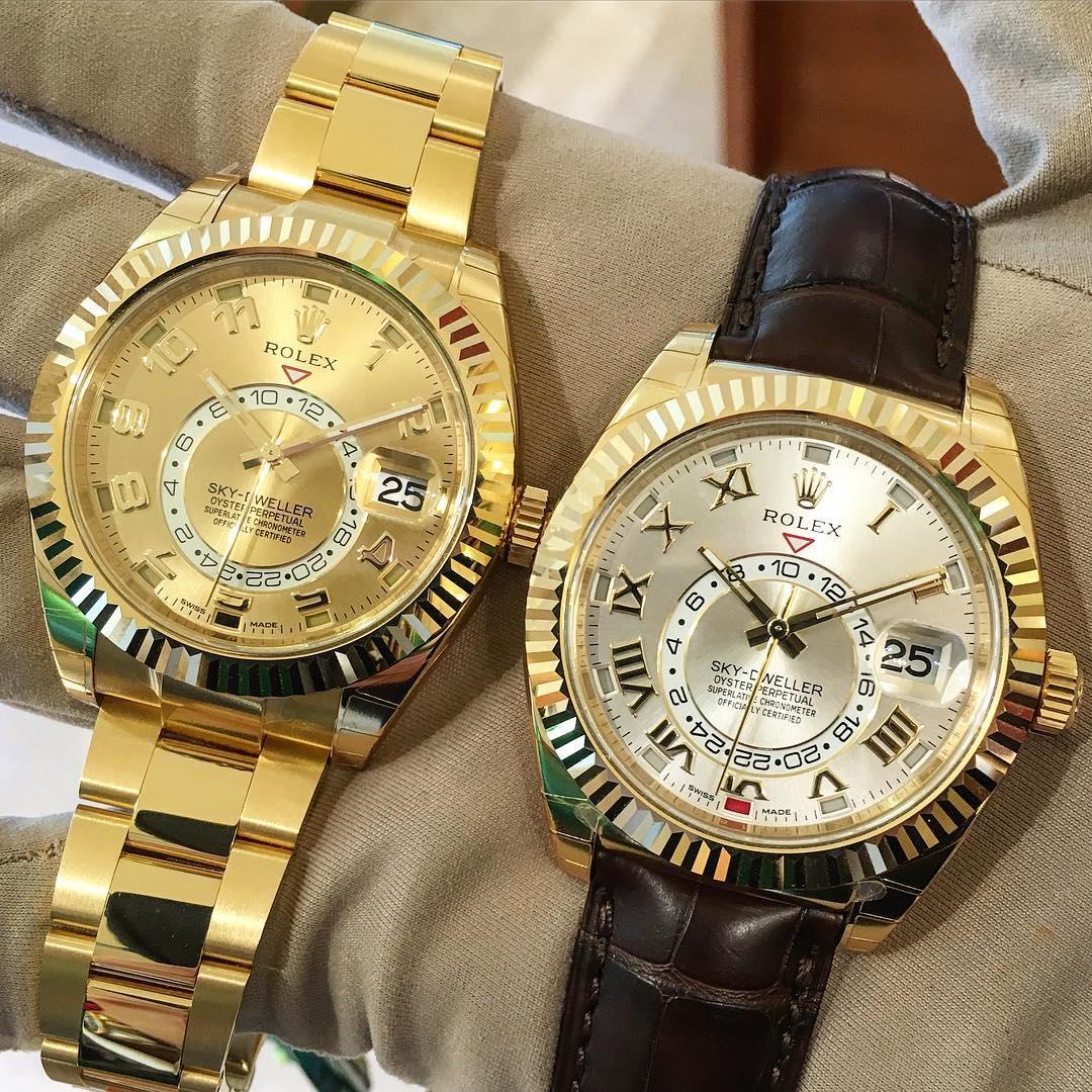 Rolex Sky-Dweller Ref. 326938 & 326138