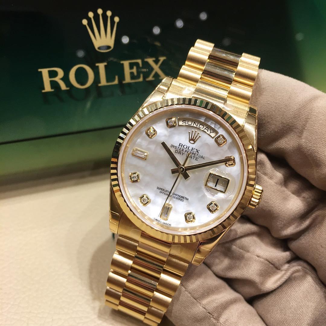 Rolex Day-Date 36 Ref. 118238