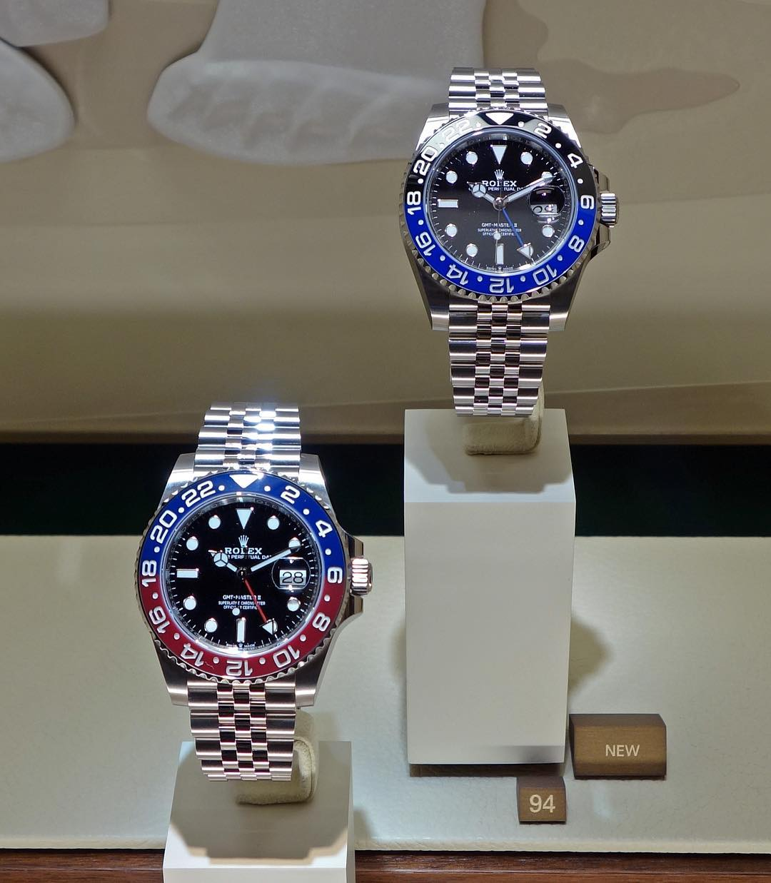 Rolex GMT-Master II Ref. 126710BLRO & 126710BLNR
