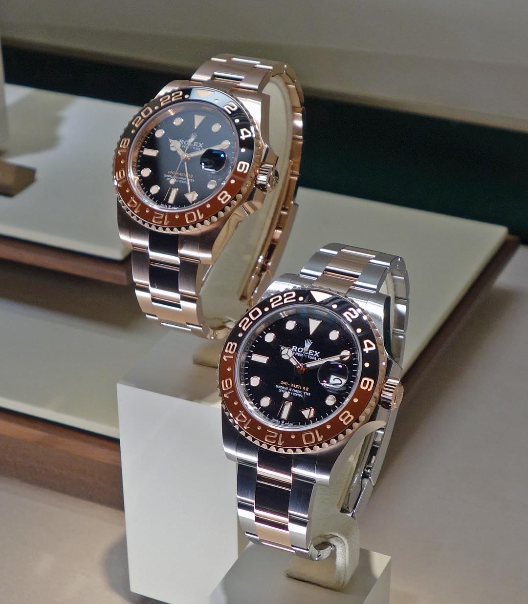 Rolex GMT-Master II Ref. 126715CHNR & 126711CHNR
