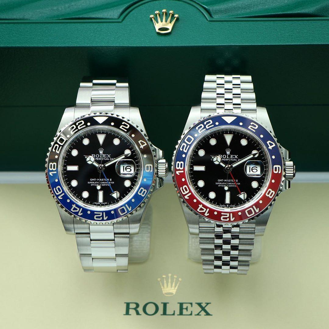 Rolex GMT-Master II Ref. 116710BLNR & 126710BLRO